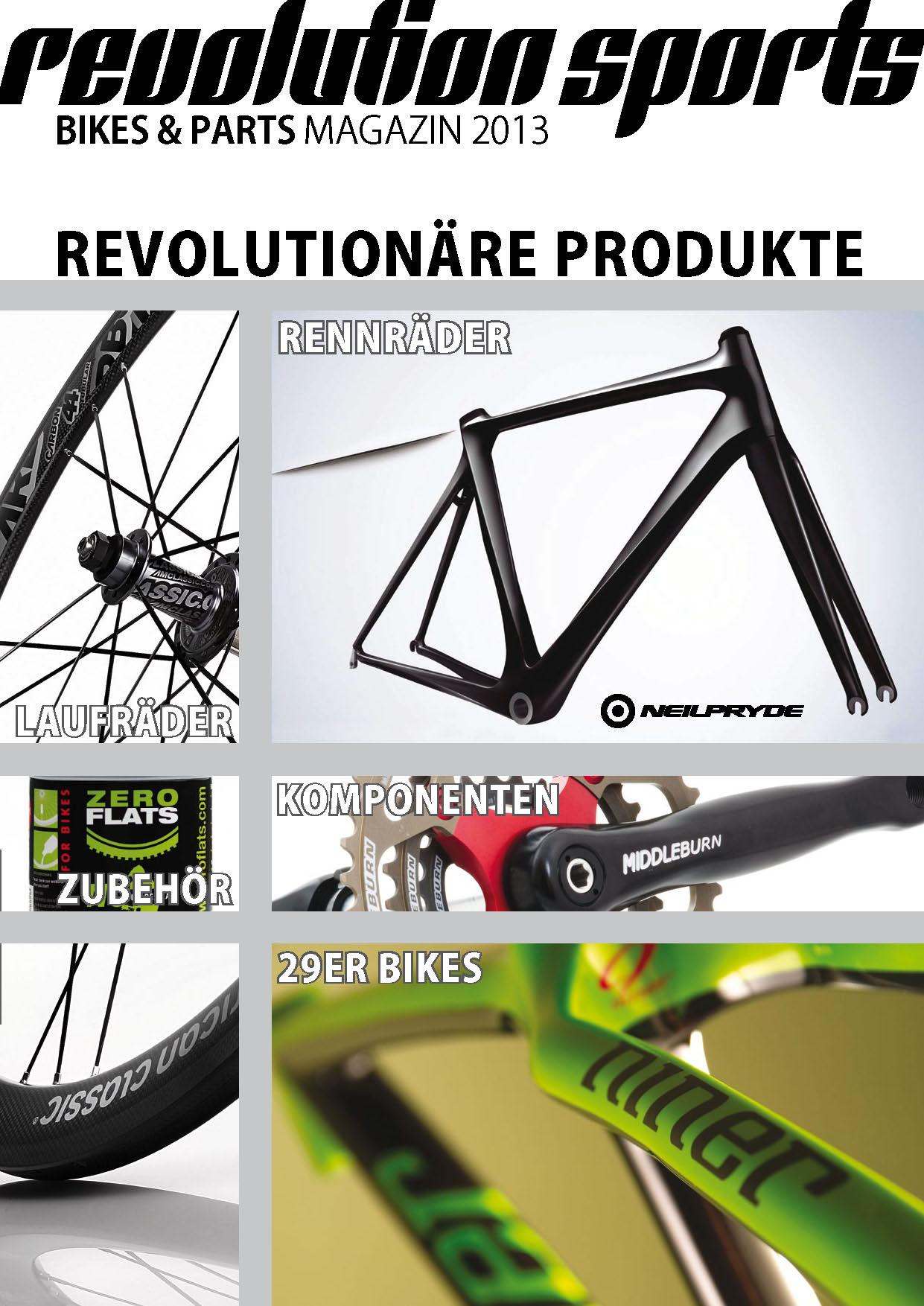Revolution Sports Katalog 2013
